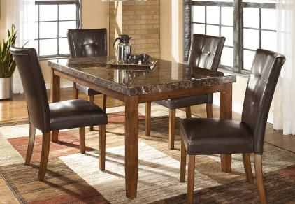 parson chair dining table