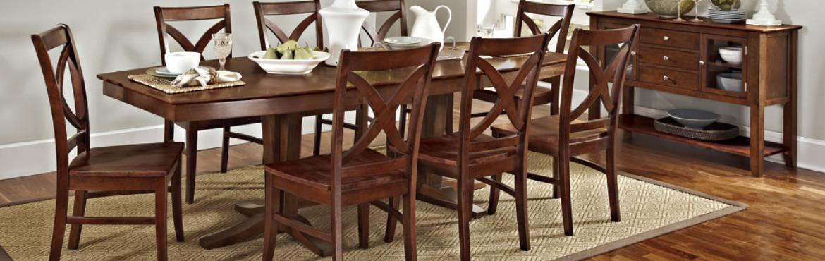 Large dining set