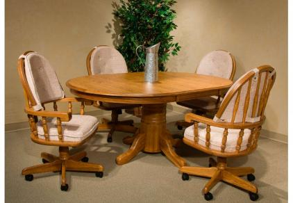Dining Chairs With Wheels Off 55, Dining Room Chairs With Wheels
