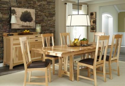 hickory dining table