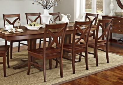 large extension dining table