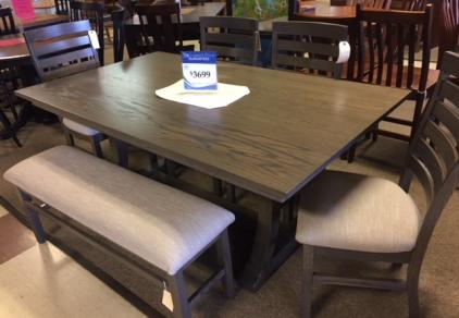 Solid Oak Amish table