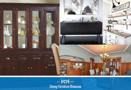 Types of dining room storage